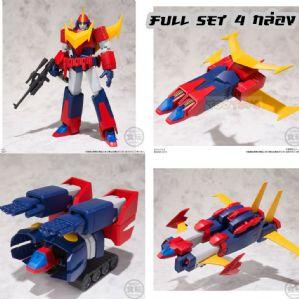 หุ่นยนต์ Super Mini-Pla - Invincible Super Man Zambot 3